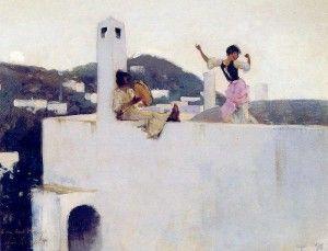 John Singer Sargent Capri 1878