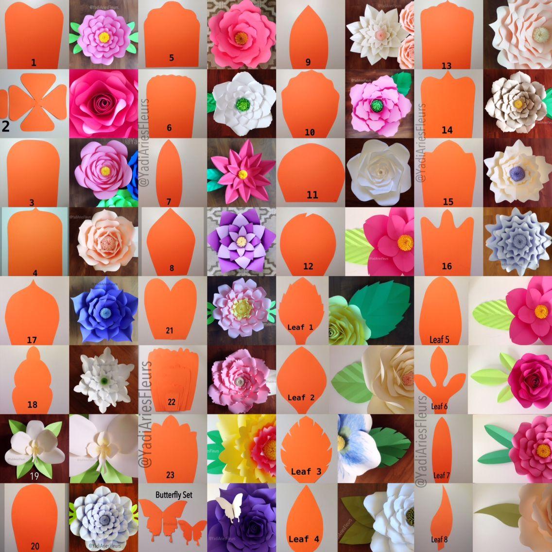 Diy Wall Flowers: Paper Flowers, Large Paper