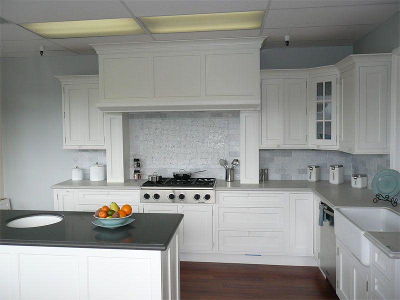 Witte metrotegel in de keuken en badkamer