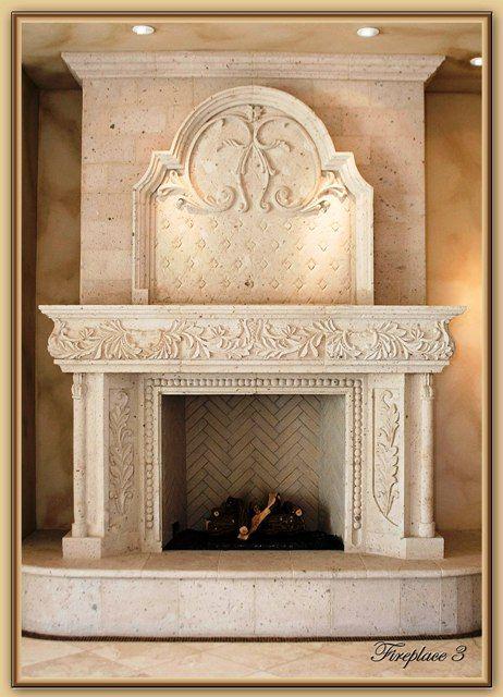 cantera stone mantel - Google Search | arquitectura en ...