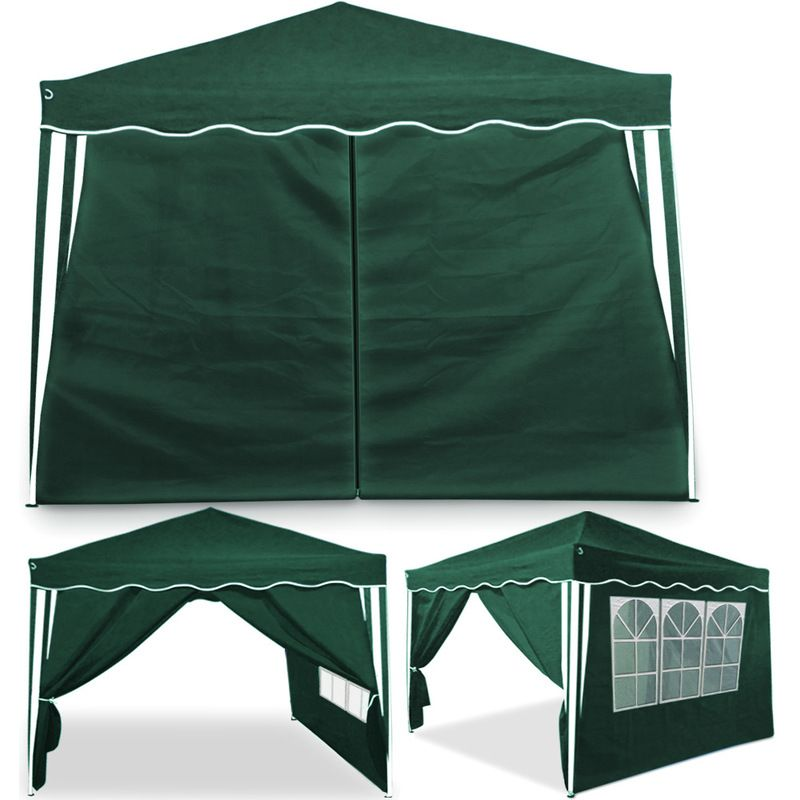 In Stock Best Prices On Sidewalls For 3x3 Gazebos 2x Green Choose Between 114 Gazebos And Marquees Gazebo Garden Marquee Window Color