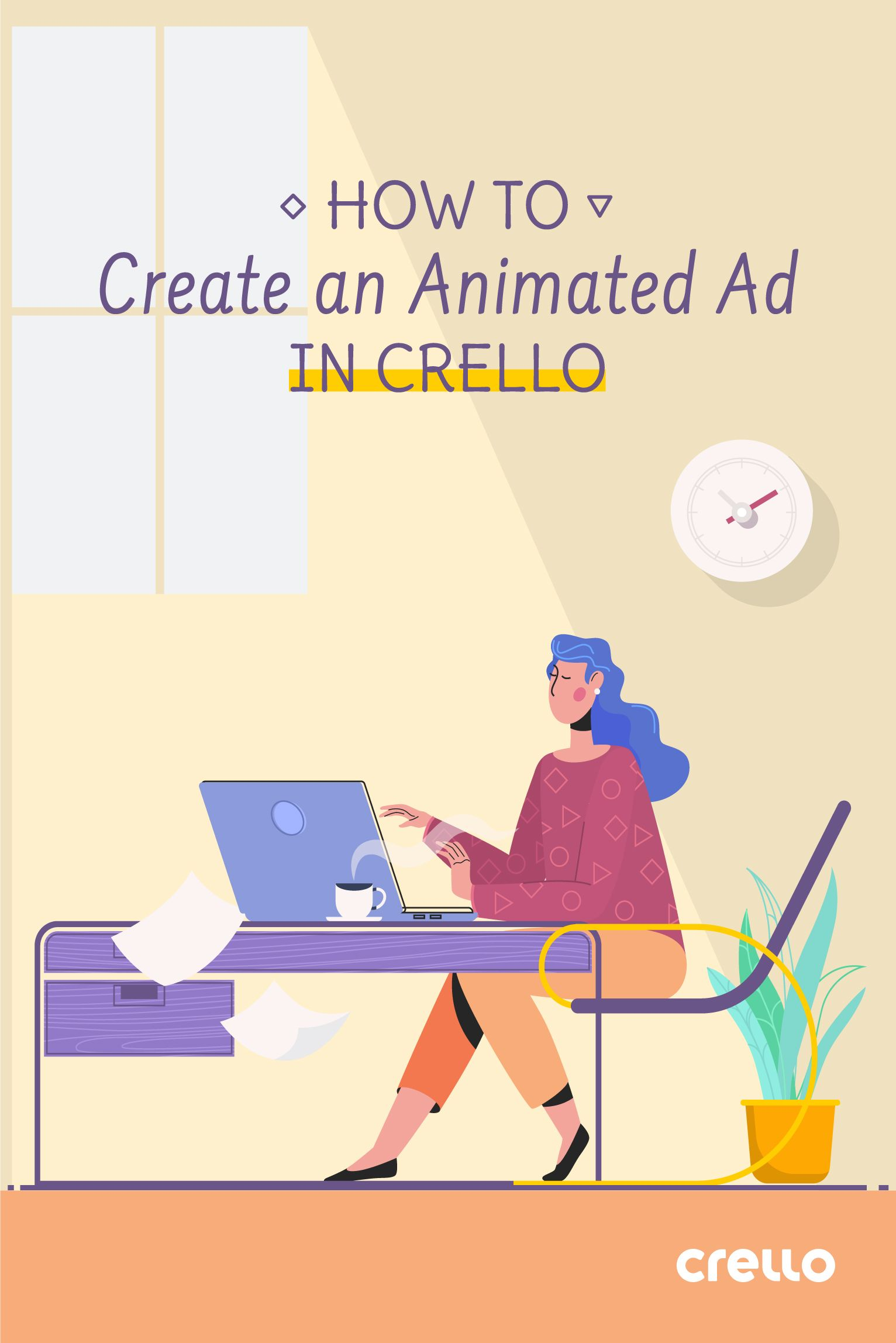 How to Create an Animated Ad in Crello Ads, Digital