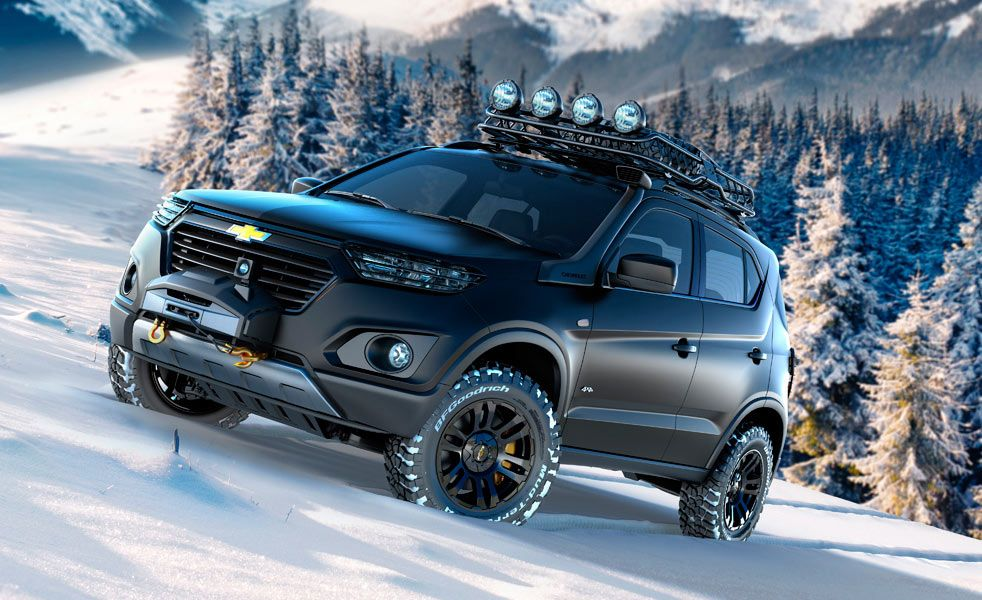 The New Chevy Niva Concept Is Designed For Harsh Winters New
