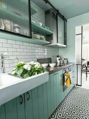 Renovieren, Hannover, Küche Ideen, Küche Designs, Innenarchitektur Küche,  Ideen Para, Vintage Wohnung, Vintage Decor, Vintage Küche