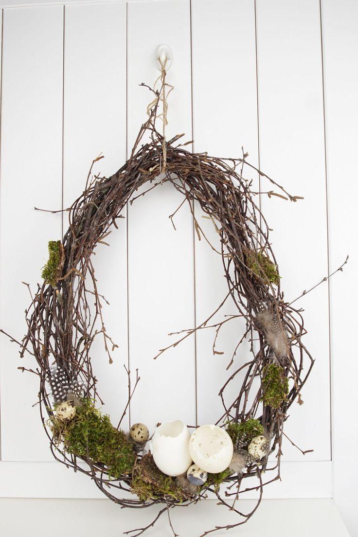 Photo of Frühlingsdeko: 4 Ideen um Kränze zu binden,  #binden #Frühlingsdeko #Ideen #Kränze
