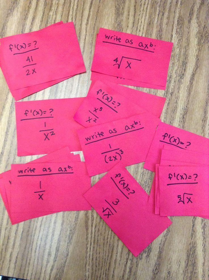 Math Teacher Mambo: Basic Derivative Rules