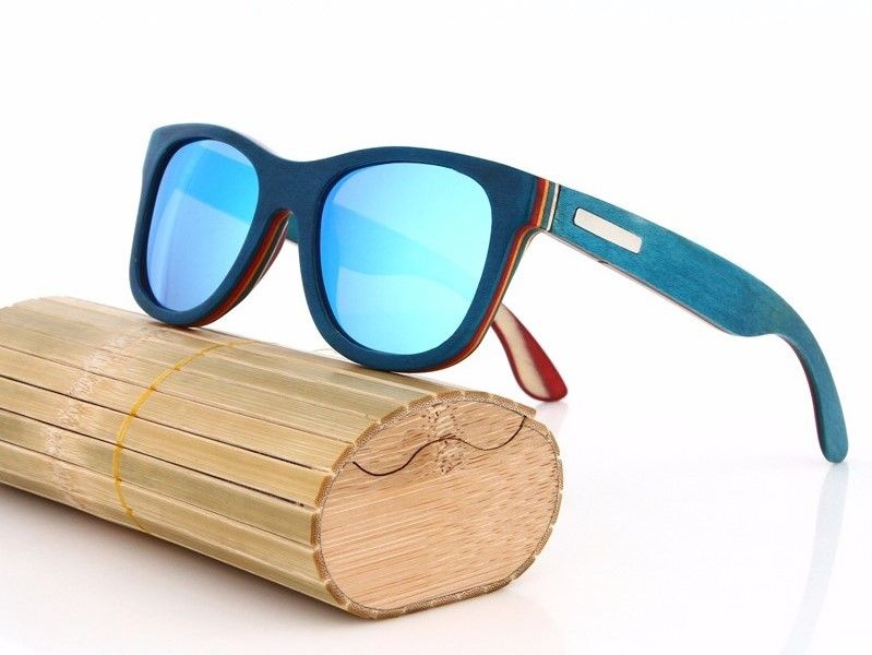3855790c5ff 100% Bamboo frame with our curated polarized colored lenses.