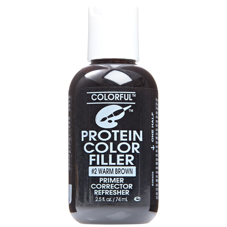 2 Warm Brown Protein Filler Homemade hair treatments