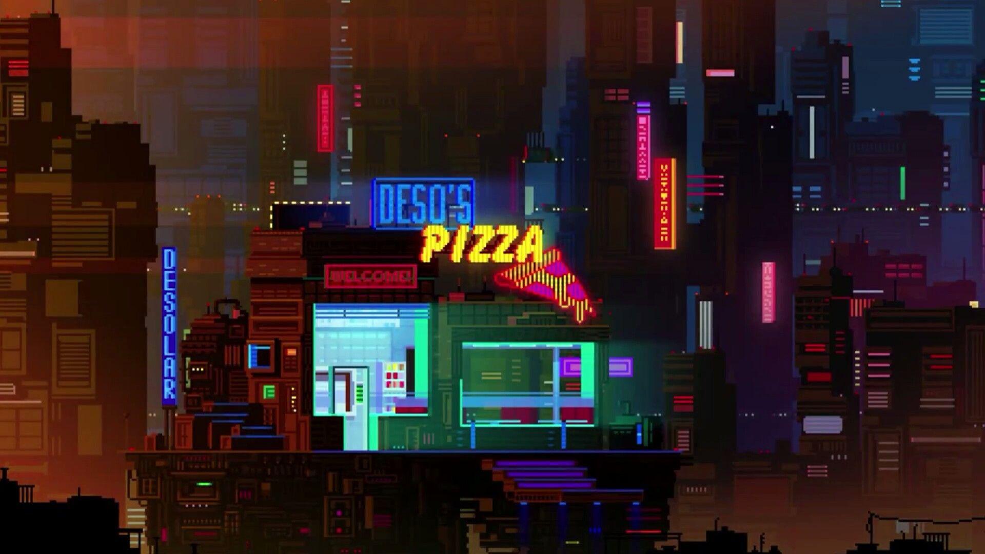 17 Best images about Cyberpunk Pixel Art on Pinterest
