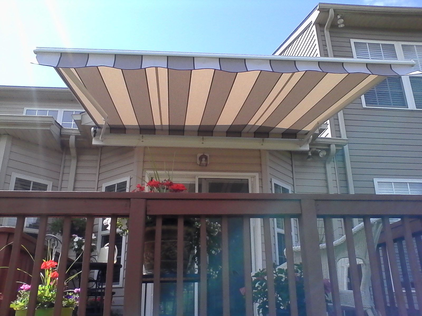 Hoffman-Retractable-Deck-Awning-Frederick-Maryland   Deck ...