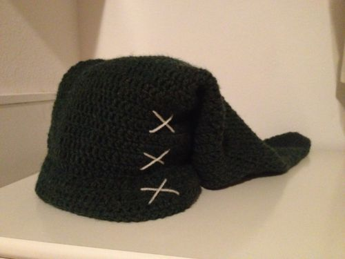 Here Is The Pattern For My Link Hat That I Made For A Friend Please