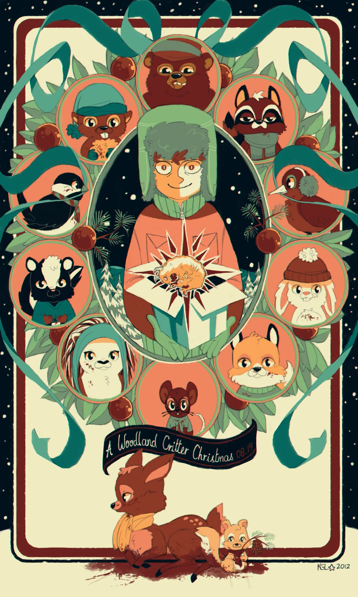4591bd9ef9ff61 Woodland Critter Christmas, Woodland Critters, South Park Fanart, South Park  Anime, Kyle