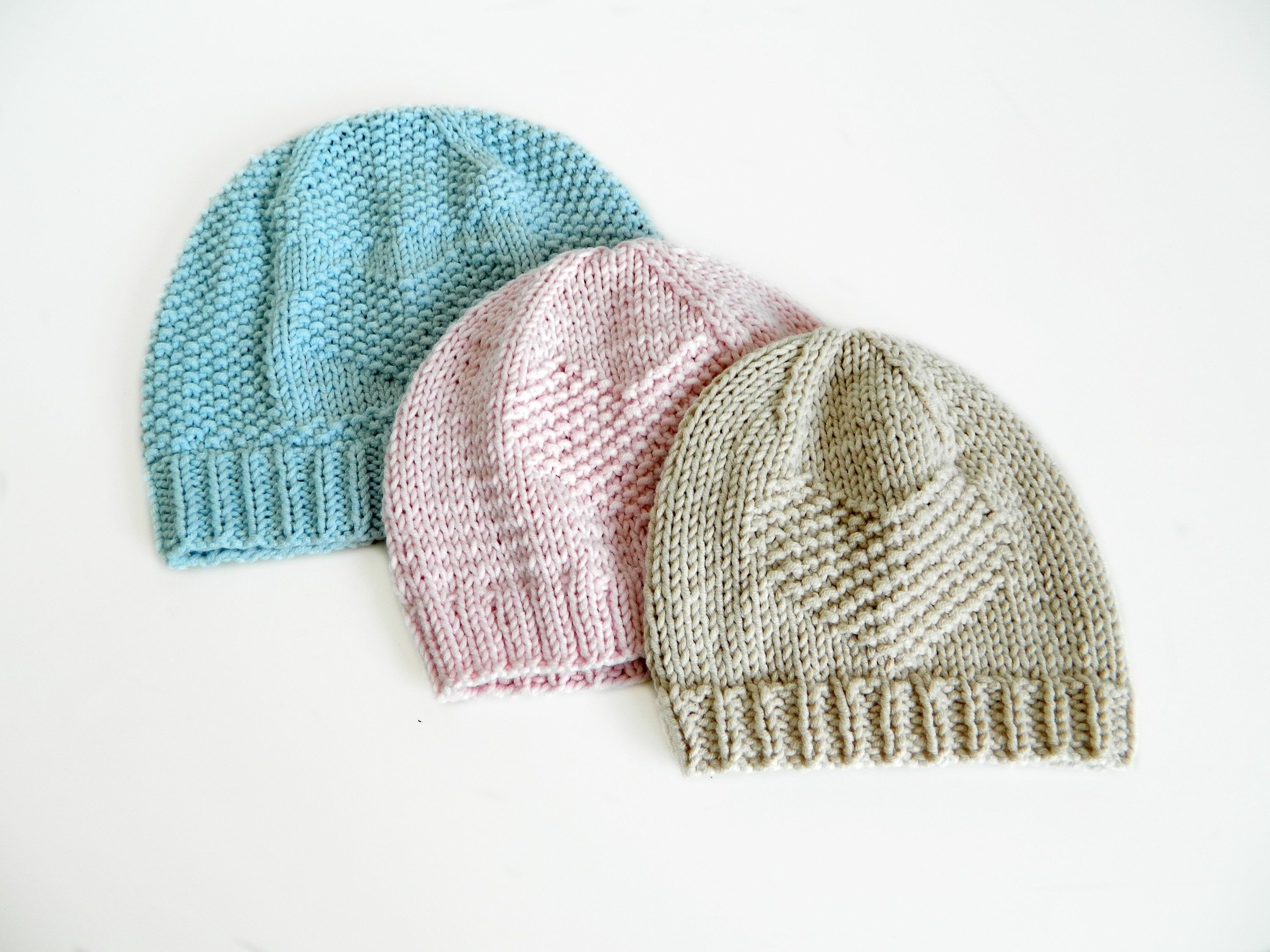 Heart Hat Knitting Pattern For Babies And Toddlers English Etsy In 2021 Baby Hat Knitting Pattern Baby Hat Knitting Patterns Free Baby Hats Knitting