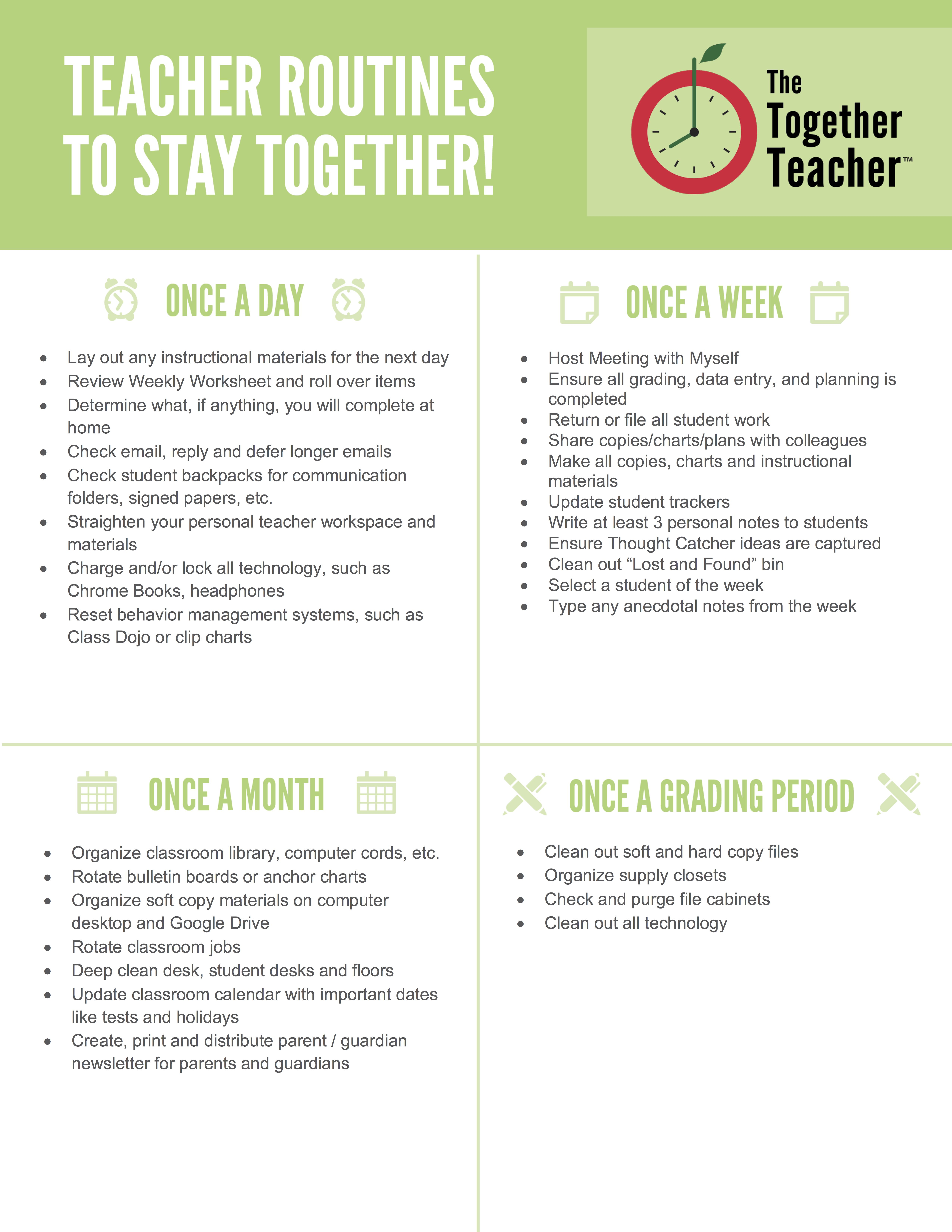 Pin By Dmccorm9 On Journal Instruction Teacher Routine