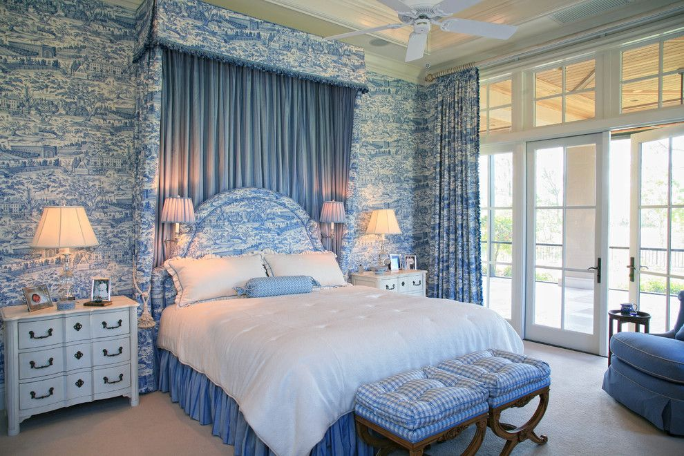 1 Color, 1 Room! Check Out How These Designers Made It Work. French Country  BedroomsCountry FrenchCountry Bedroom DesignFrench BlueFrench ...