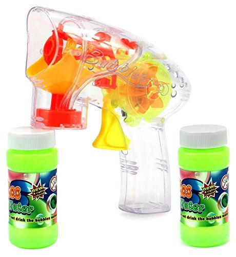 Spinner Toy Bubble Blowing Gun w/ 2 Bottles of Bubble Liquid, Flashing Lights, No Batteries Required (Colors May Vary) Velocity Toys http://www.amazon.com/dp/B011LVWBTY/ref=cm_sw_r_pi_dp_zCOhwb1YC3E1C