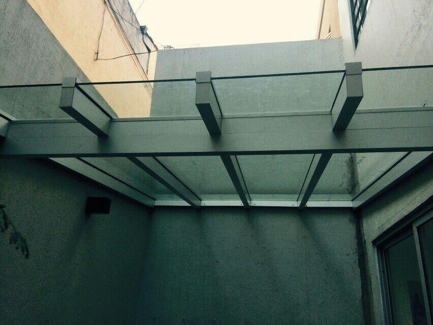 Techo De Aluminio Y Vidrio Laminado De Seguridad Ceiling Lights Track Lighting Ceiling