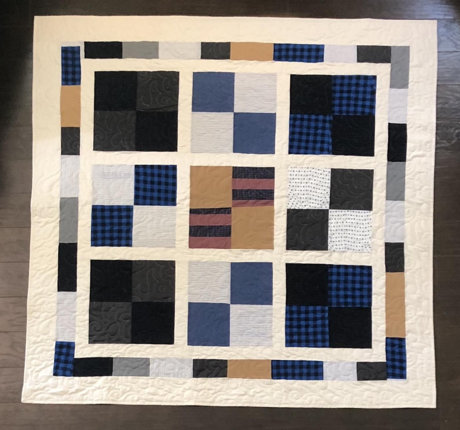be7c63fdd15830c82e50fb1bb4227af5 - Better Homes And Gardens Solid Border Quilt