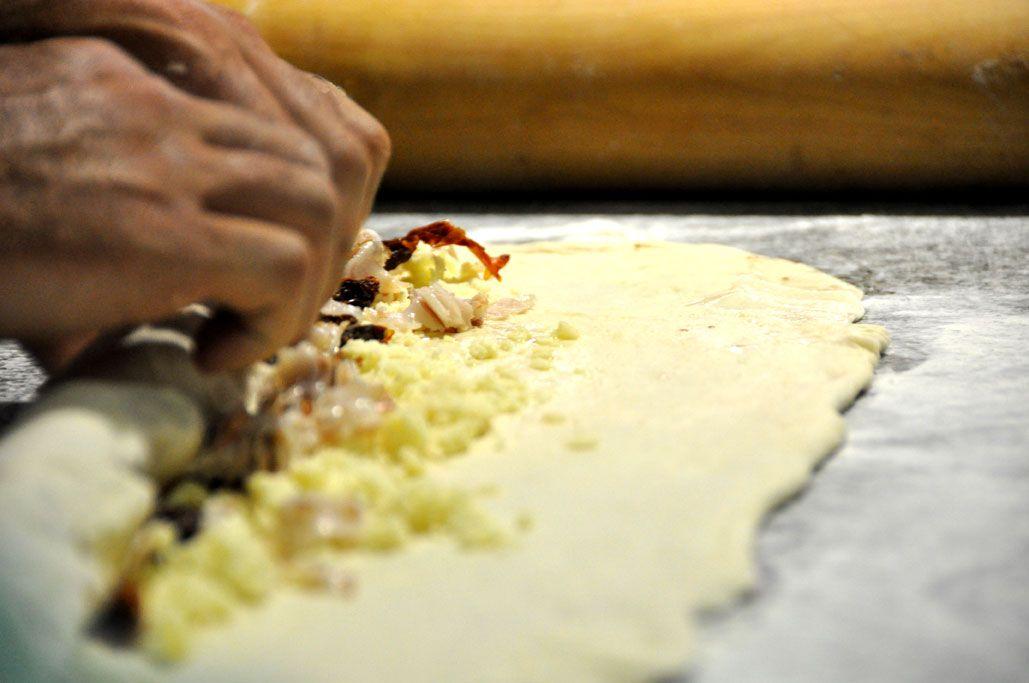 Preparado de pizza Coca Mallorquina