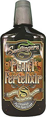 Amazon com : Seedlingers Plant Fertelixir 32oz Concentrate : Garden