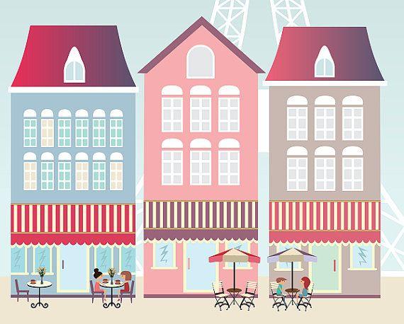Paris print, cities, poster print, france, coffee, Eiffel , love ...
