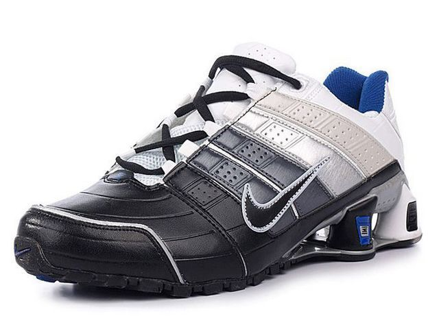 huge sale ea7fa ef397 Chaussures Nike Shox NZ Noir  Argent  Blanc  Bleu  nike 12062  - €45.97   Nike  Chaussure Pas Cher,Nike Blazer and Timerland www.facebook.com .