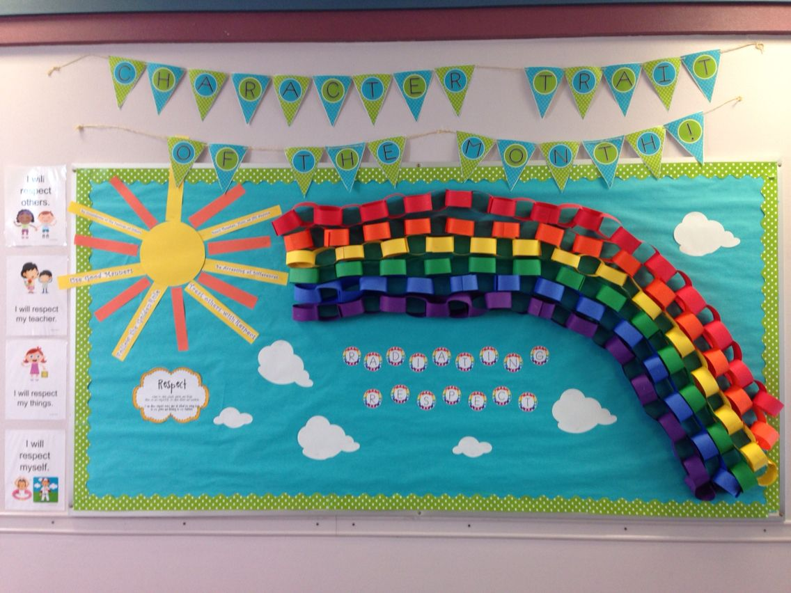 Character Trait Of The Month Radiating Respect