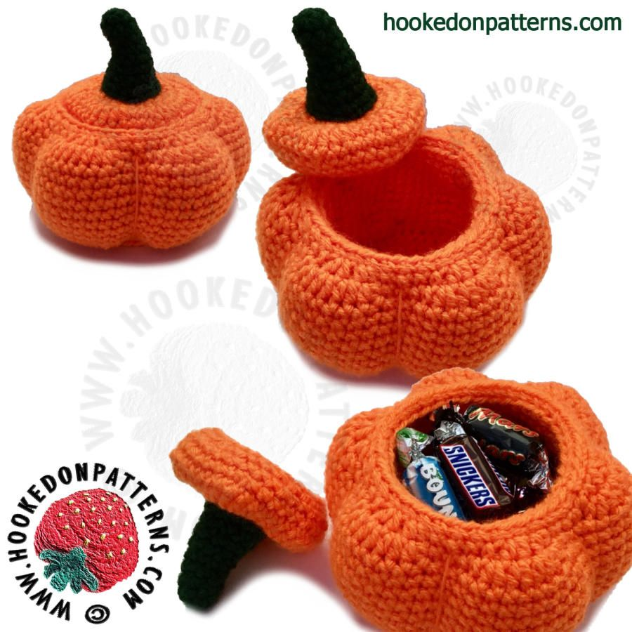 Pumpkin Pots - Free Pattern - Crochet creation by Ling Ryan ...