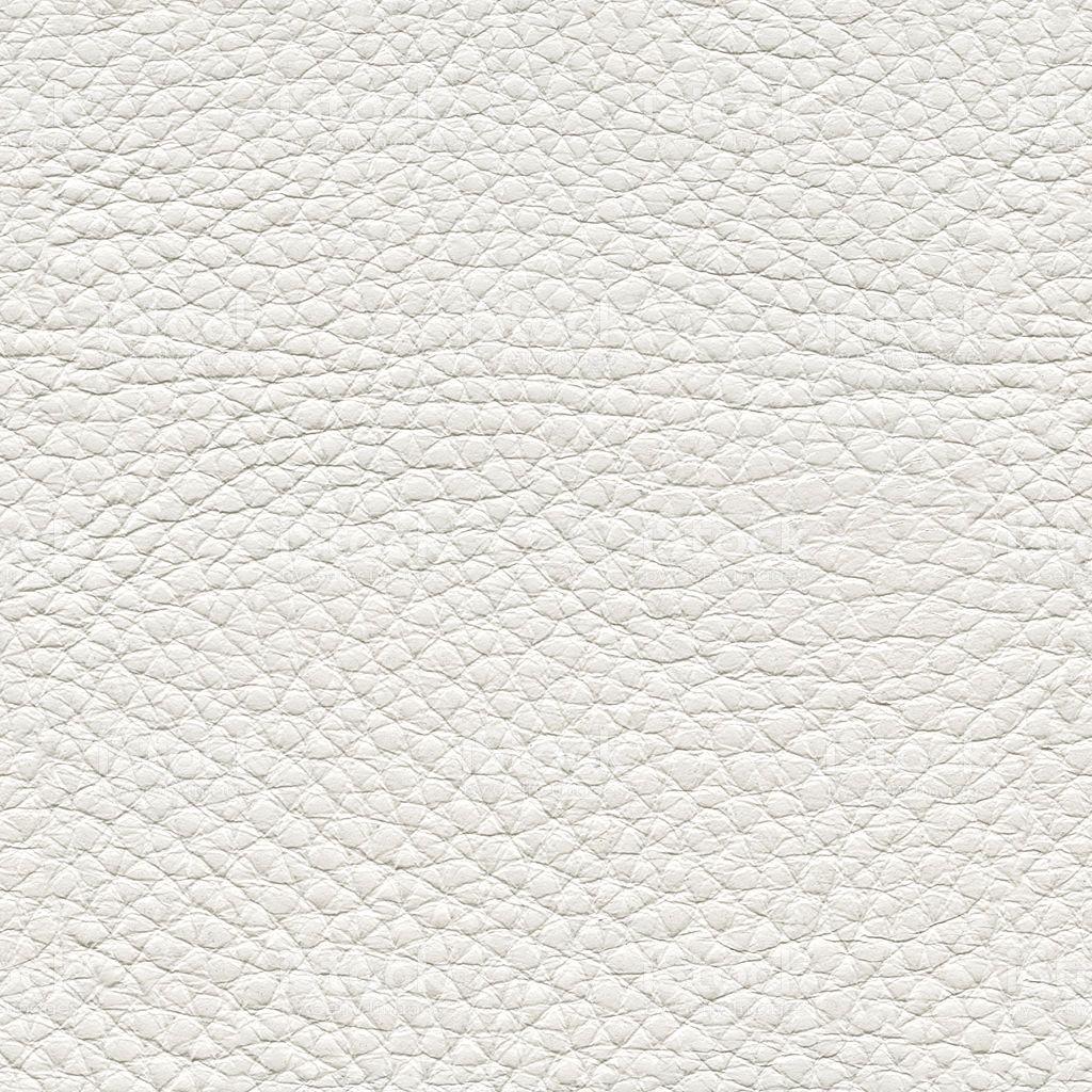 Closeup Of Seamless White Leather Texture Stock Photo