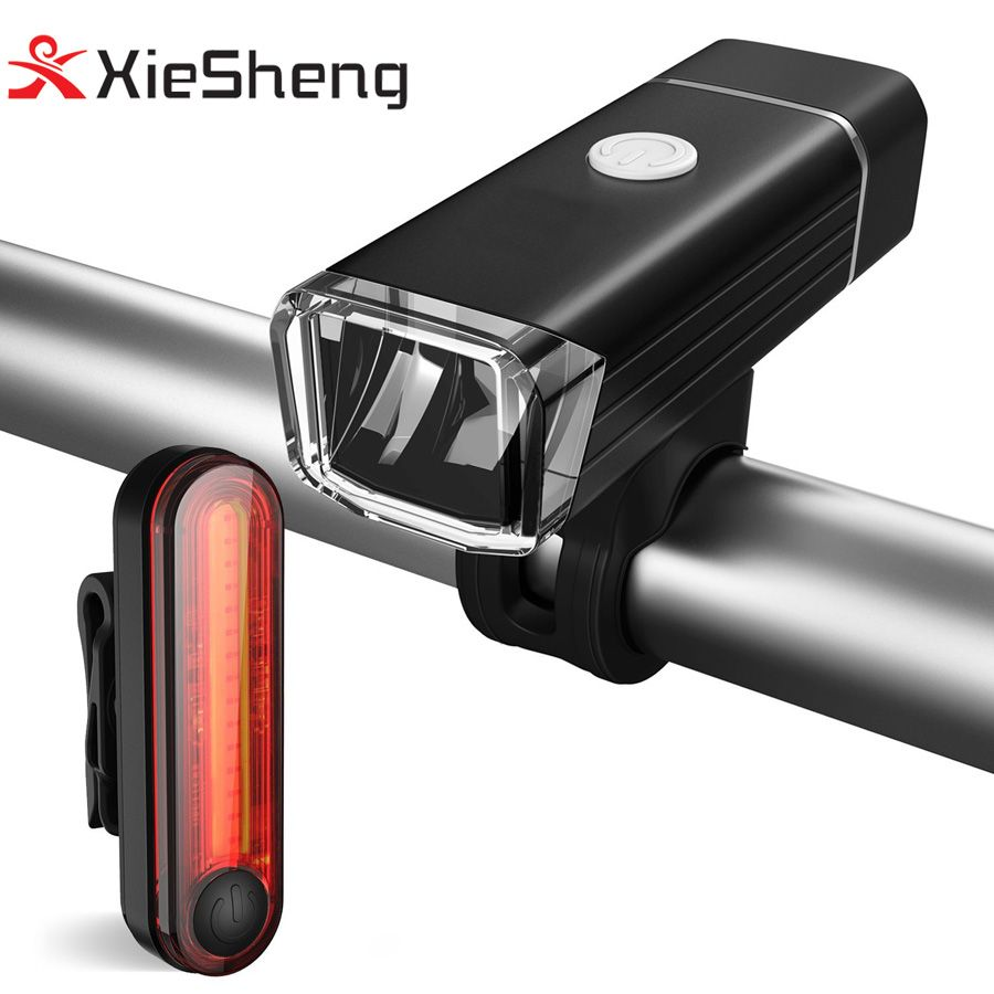 Usb Rechargeable Led Bicycle Lights Quick Release Front Headlight