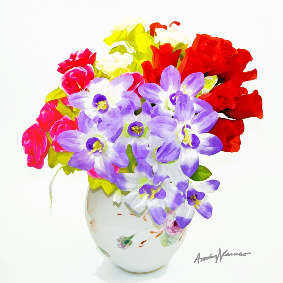 Flowers In Vase Images