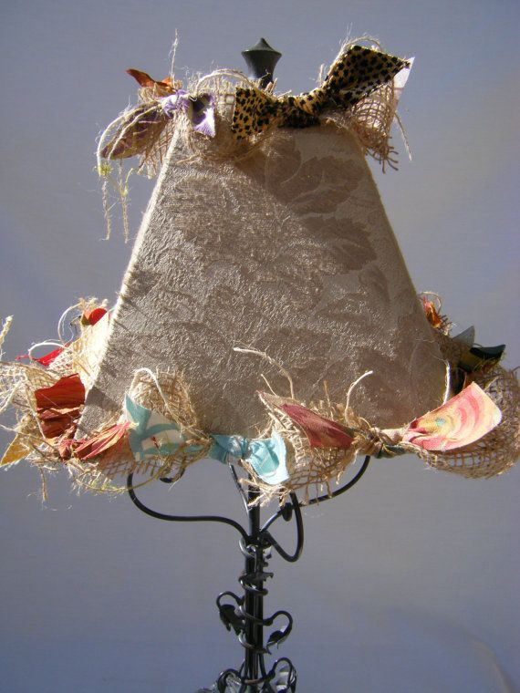French Country Cottage Lamp Shade Diy Lamp Shade Shabby Diy Lamp Shade