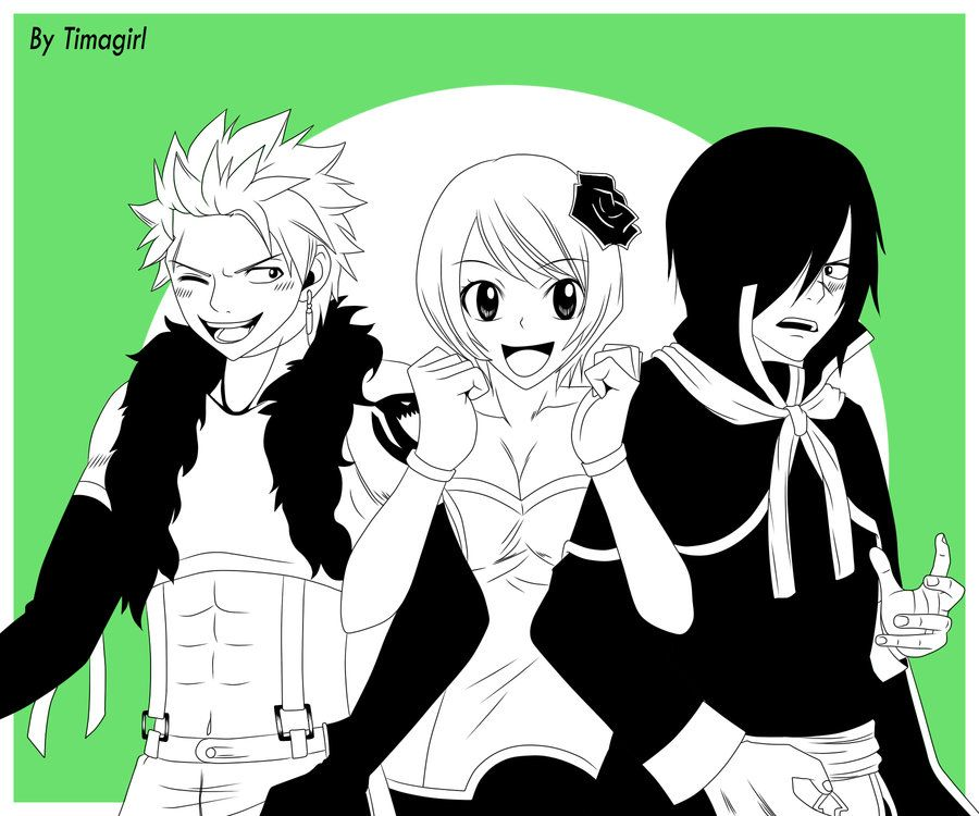 Rogue X Yukino X Sting FT by Timagirl   Anime   Fairy tail
