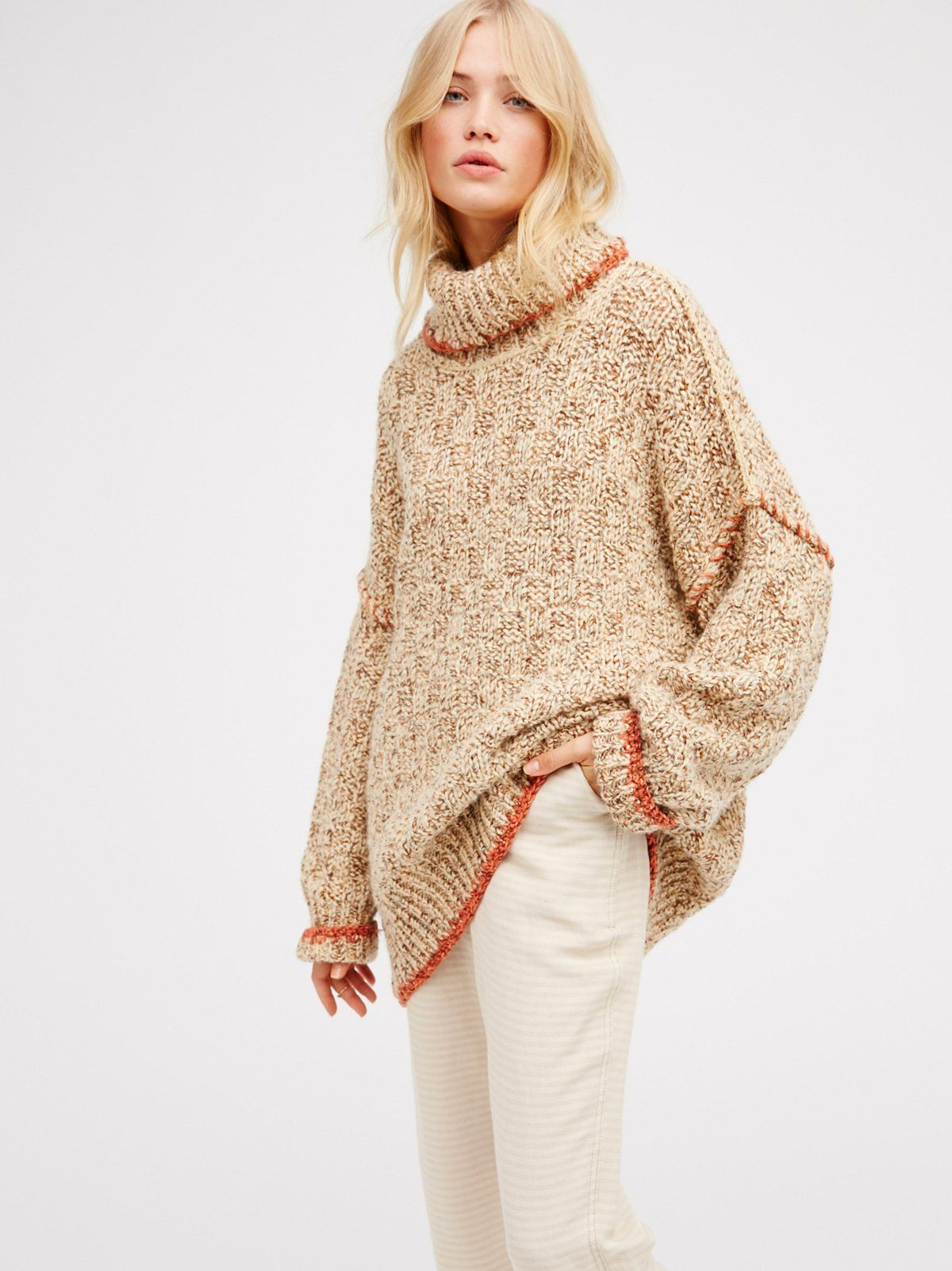 Echo Pullover | Irresistibly cozy turtleneck sweater with a chunky ...