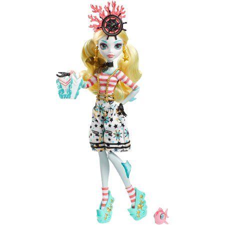 Monster High Shriekwrecked Nautical Ghouls Lagoona Blue Doll, Multicolor