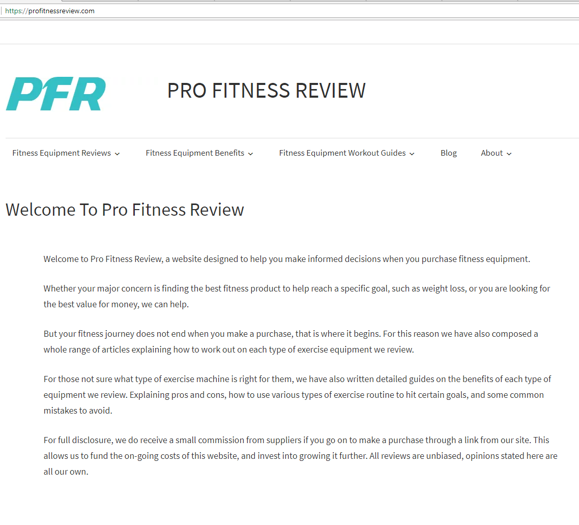 Website providing reviews of the best home fitness equipment on the ...