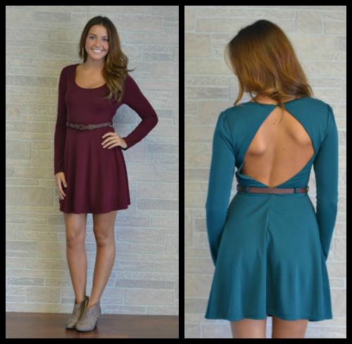 Little Woman Dress, 2 Colors, $54.00
