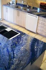 Image Result For White And Blue Quartz Countertop With Images