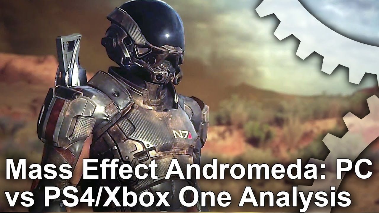 Video] Mass Effect Andromeda: PC vs PS4/Xbox One Graphics Comparison ...