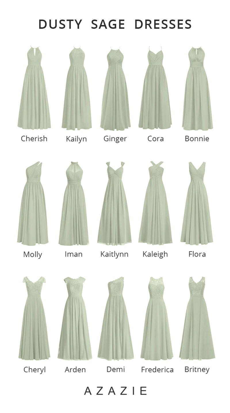 38+ Dusty sage dress information
