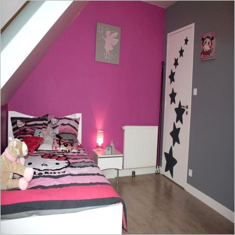 Deco Chambre Fille 10 Ans In 2020 Baby Room Paintings Room