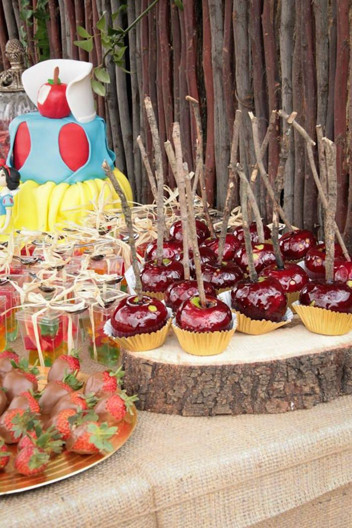 Snow White Birthday Party #snowwhite