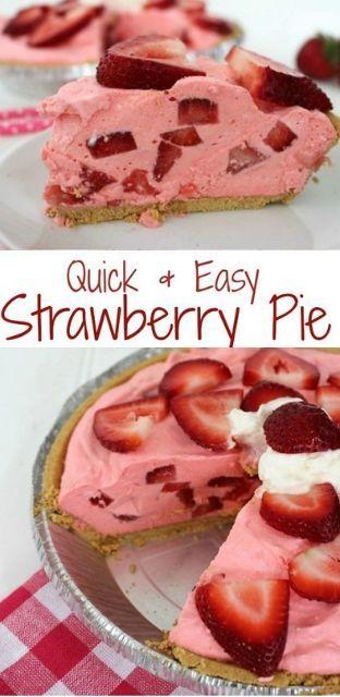 Quick & Easy Strawberry Pie images
