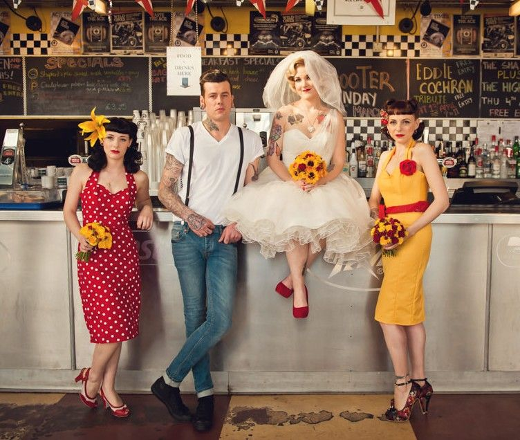 Rockabilly Wedding Ideas: True Love And Petticoats
