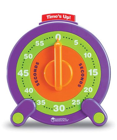 Another great find on zulily! 60-Second Jumbo Timer
