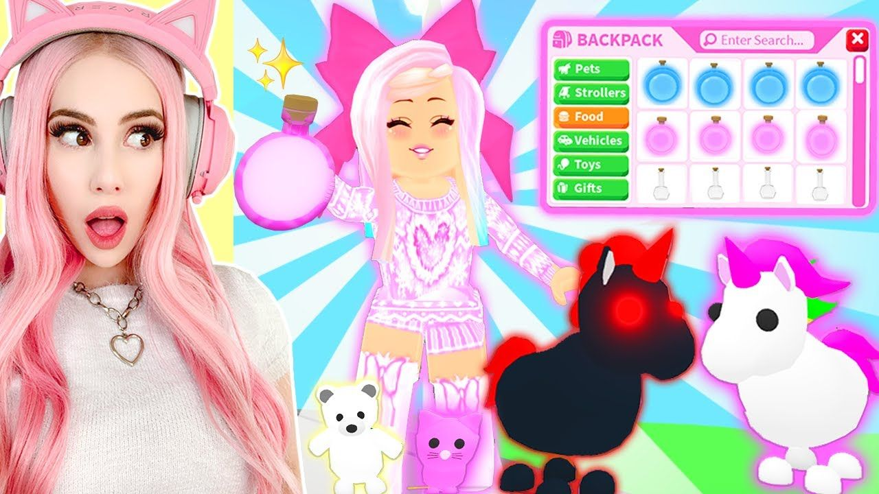 I Gave All My Neon Pets The Brand New Pet Potions In Adopt Me Adopt Me Brand New Update Youtube Adoption Pet Dragon Pets