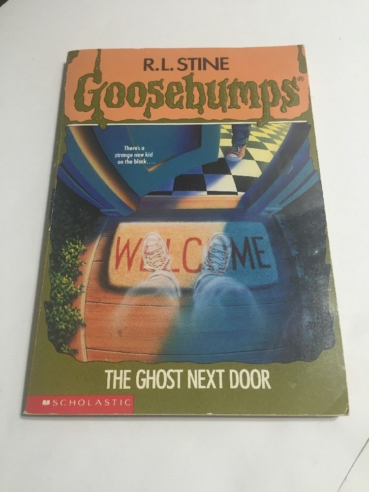 Goosebumps 10 The Ghost Next Door R L Stine 1st Edition Rl4 008 012 Goosebumps Rocky Horror Picture Show Kids On The Block