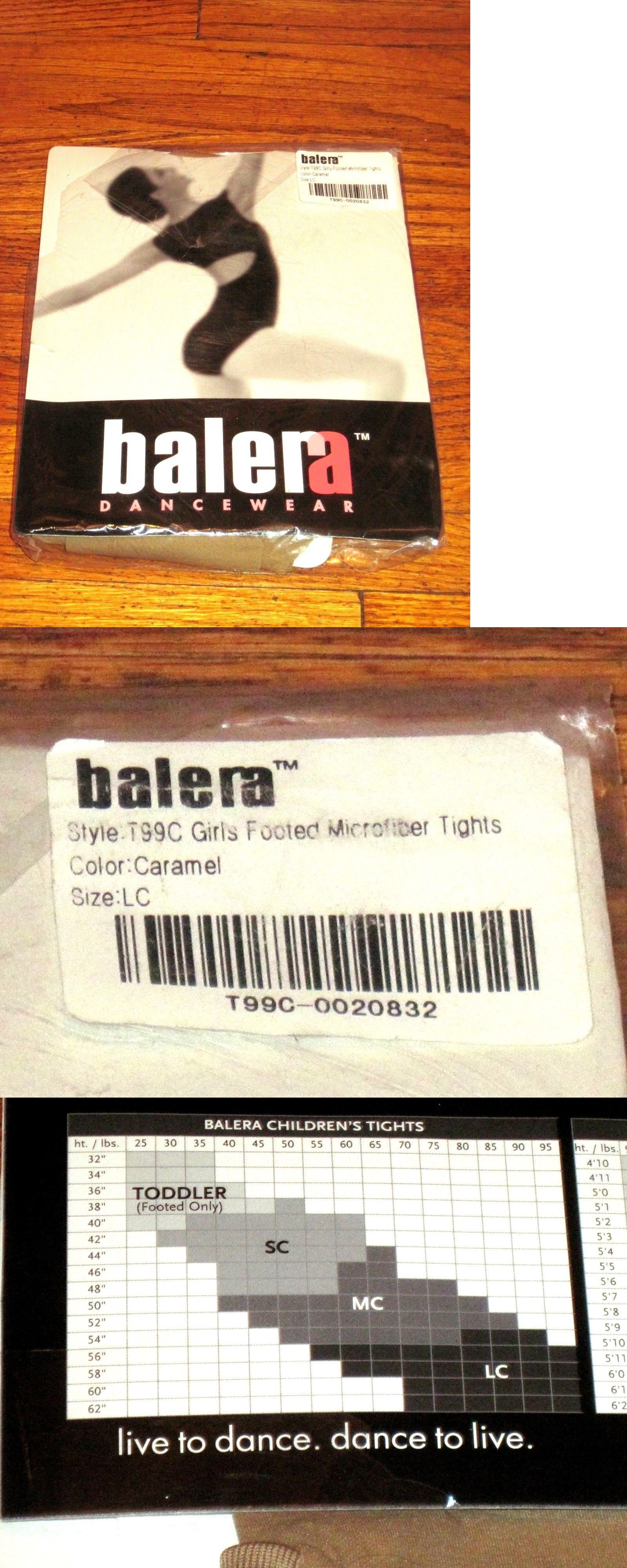 37bb6c8fe Leggings and Tights 152353  Balera Girls Footed Microfiber Lt Caramel Dance  Tights Size Lc Large Child Nwt -  BUY IT NOW ONLY   10.6 on  eBay  leggings  ...