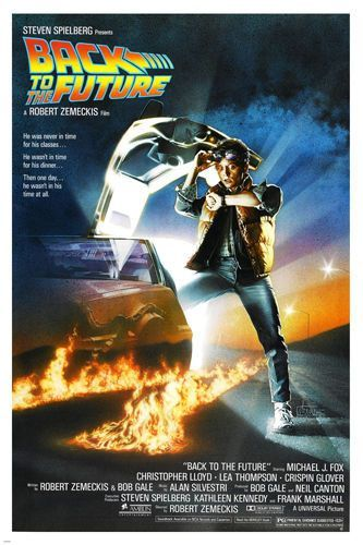 BACK TO THE FUTURE Movie Art Silk Canvas Poster 12x18 24x36 inch