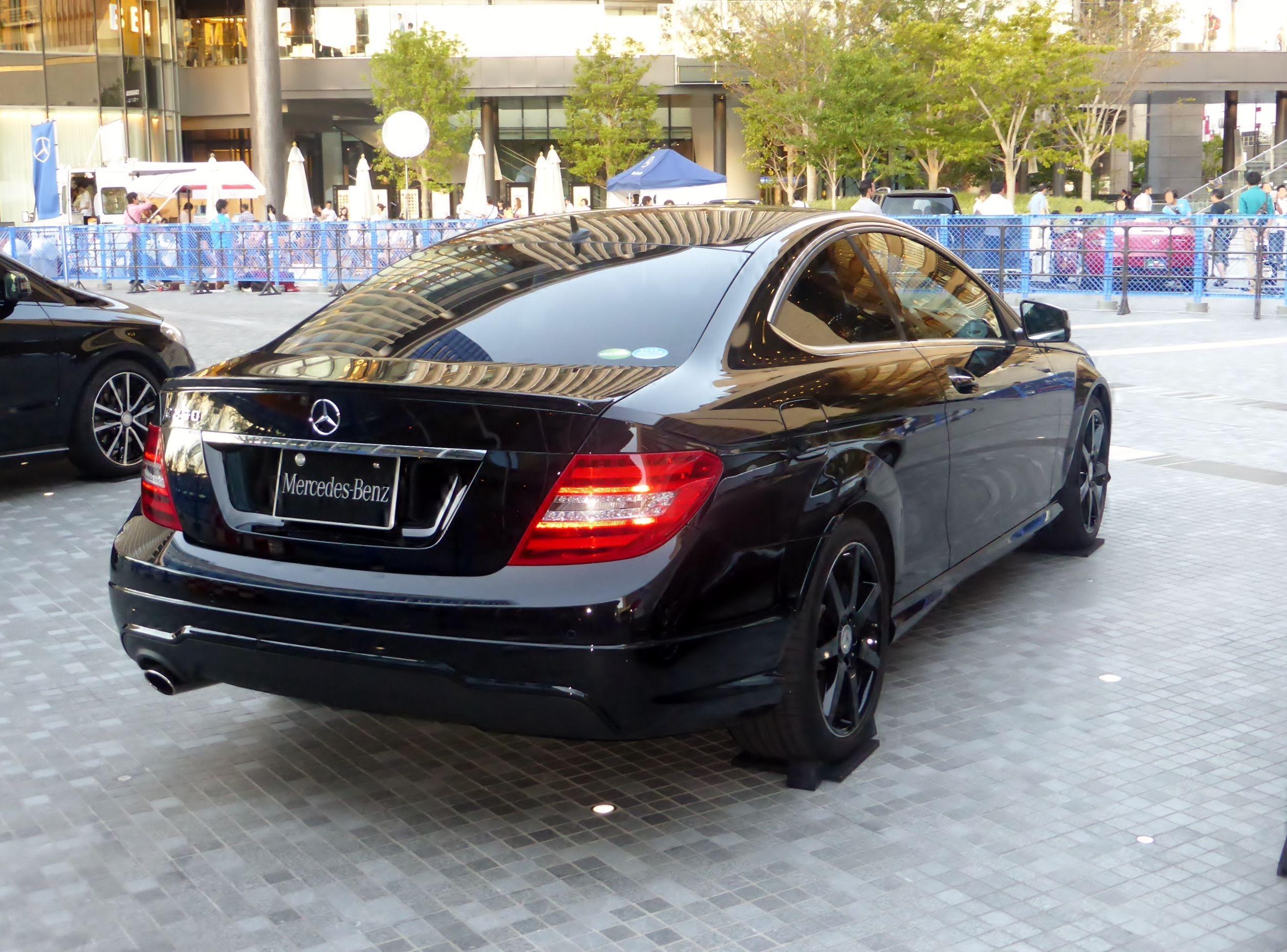 Benz C250 Coupe Black Benz Bmw Car Bmw
